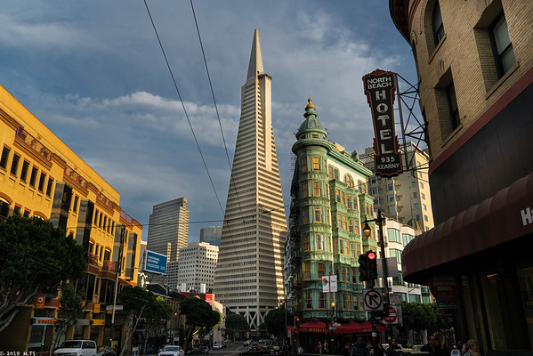 San Francisco on a Sturday Afternoon in March