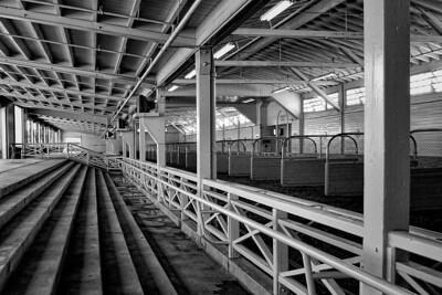 Santa Anita Barn B/W #2
