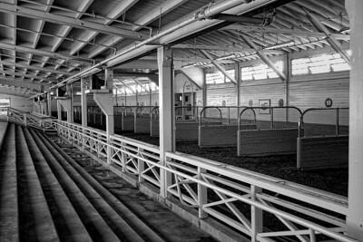 Santa Anita Barn B/W #1