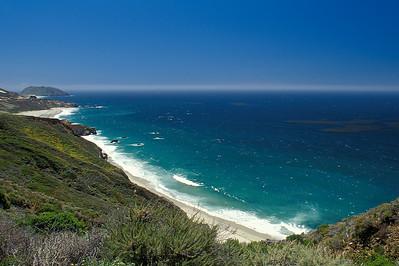 turquoise coast Big Sur