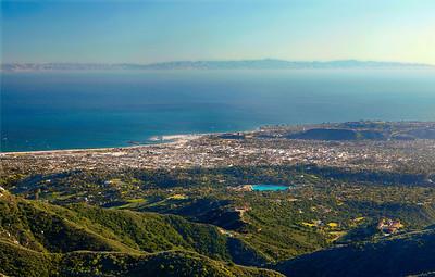 Santa Barbara from Camino Cielo 3