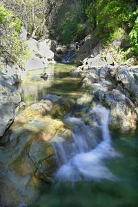 Seven Falls upstream
