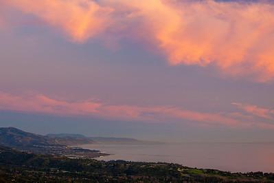 Montecito & Carpinteria coastline