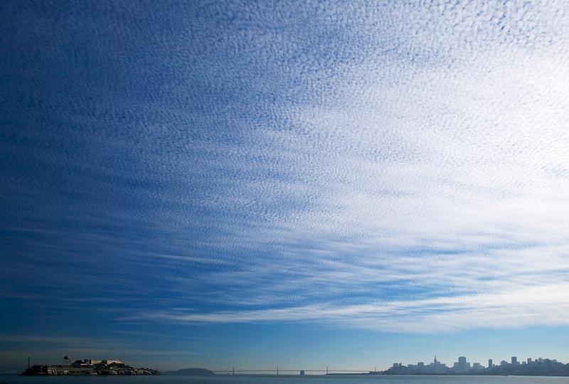San Francisco Bay sky