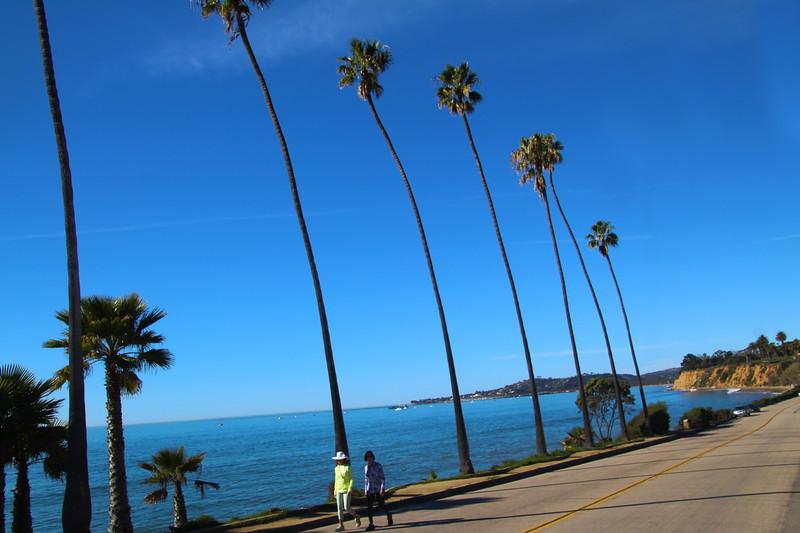 California, Santa Barbara, Shoreline Drive