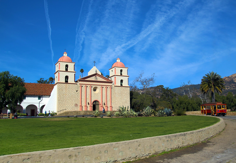 California, Santa Barbara, Old Santa Barbara Mission