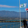 California, Santa Barbara,  Breakwater