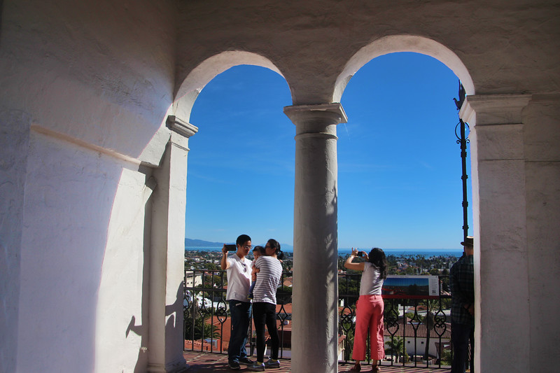 California, Santa Barbara, Courthouse Tower