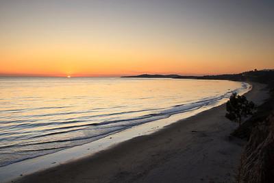 Loon Point sunset