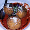 California, Santa Barbara, Olio Crudo Bar, Sicilian Arancini rice balls