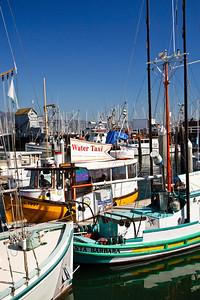 Santa Barbara Harbor, water taxi