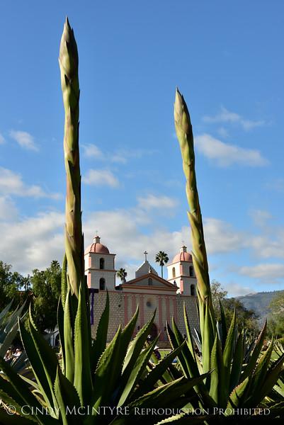 Old Mission Santa Barbara, California