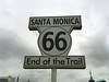 Not exactly accurate, put pretty close. Actually, Route 66 ends at Lincoln & Olympic