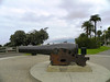 """One of two Santa Monica Civil War cannons. For the full story, Google - """"Santa Monica Cannon"""""""
