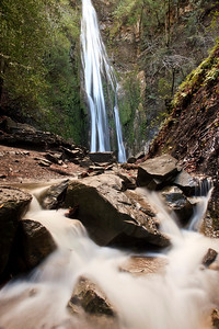 100 foot-high Nojoqui Falls, Nojoqui Falls County Park