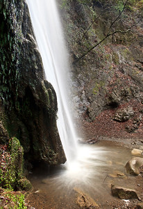 100 foot-high Nojoqui Falls
