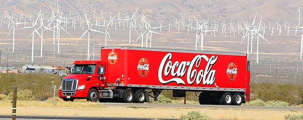 Coco-Cola Truck @ Mojave