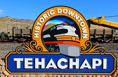 Tehachapi sign  31/01/15