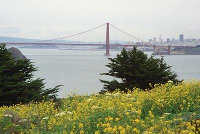Point Bonita with Golden Gate Bridge in background