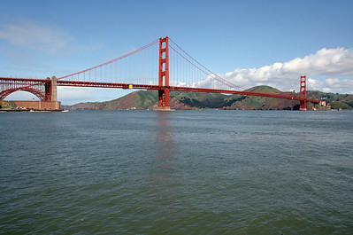 Fort Point with Golden Gate Bridge