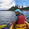 Canoeing to Emerald Bay Island