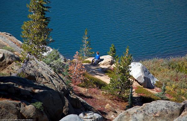 Grouse Lake Trail. Granite Lake.