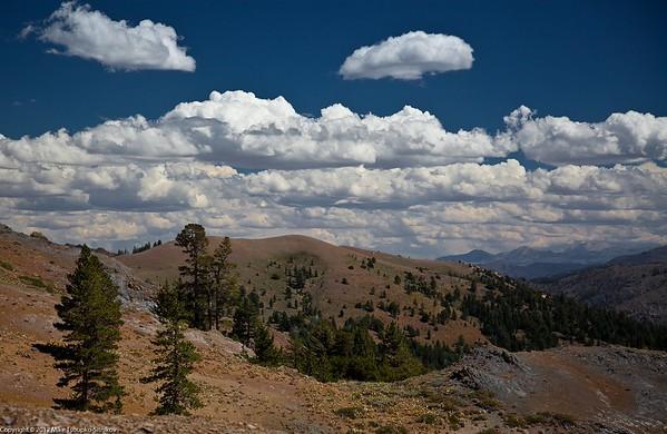 Markleeville Peak Hike. A Mokelumne Wilderness view