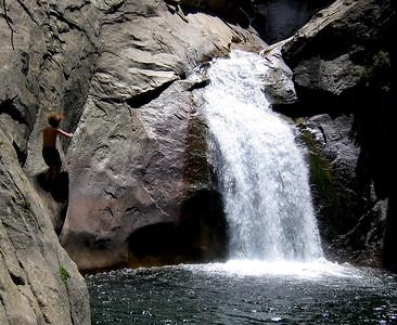 Falls in Kings Canyon