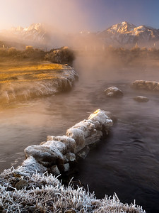 Hot Creek at Sunrise