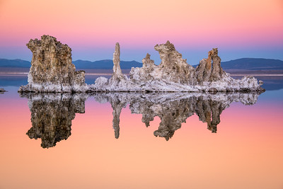 Mono Lake at Dusk, Lee Vining, California