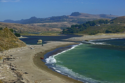 Russian River estuary closeup