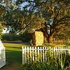 cottage garden at Beltane Ranch