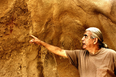 Chumash Indian Pictographs Thousand Oaks CA