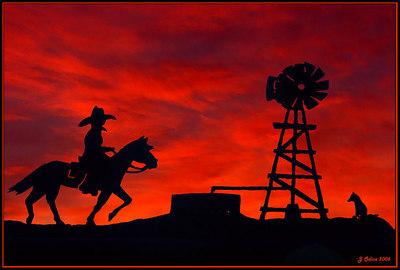 Leona Valley Sunset