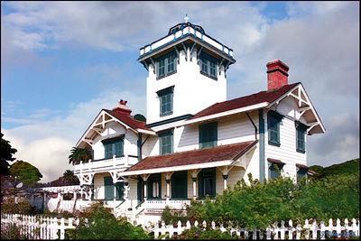Pt Fermin Lighthouse San Pedro California