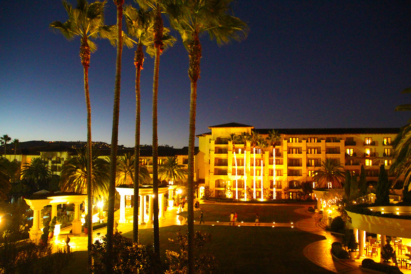 St. Regis Monarch Beach Resort, Dana Point, California, Twighlight View