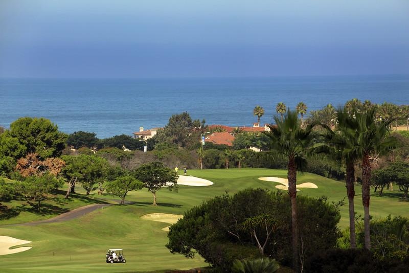 St. Regis Monarch Beach Resort, Dana Point, California, View on Golf Course