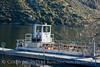 Barge, Silverwood Lake, S Calif