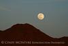 Apple Valley CA moonrise