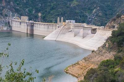 Morris Reservoir Dam_San Gabriel Canyon-6979