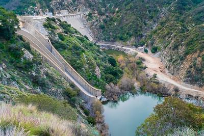 Morris Reservoir Dam_San Gabriel Canyon-6976