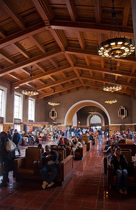 Olvera Street, Union Station--Los Angeles, California