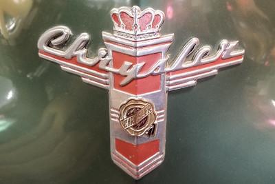 Mid 40s Chrysler Hood Emblem-4
