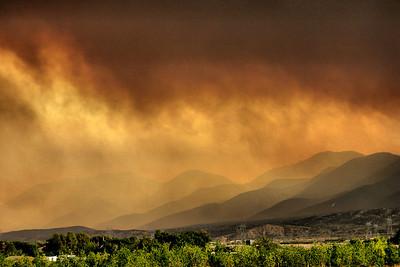 San Gabriel Foothills Sky