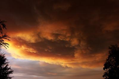 Scary Sky Station Fire