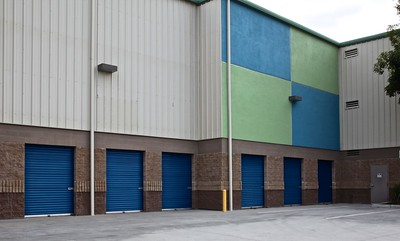 Storage unit where JIT helps those foster kids just starting out on their own.