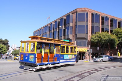 Cable Car No 16 at Fishermans Wharf     21/06/10