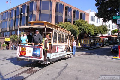 Cable Car No 18 at Fishermans Wharf     21/06/10