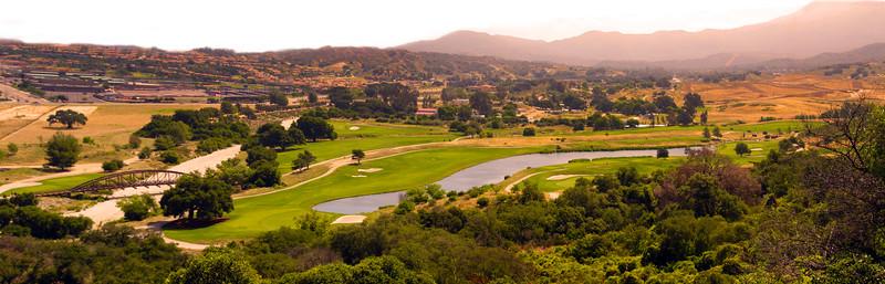 Temecula California, Journey at Pechanga Golf Course, Panorama