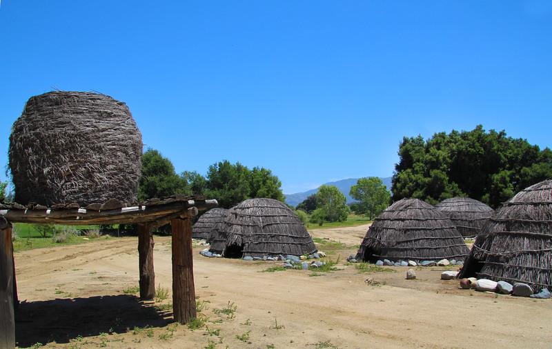 Temecula California, Tribal Village Re-creation